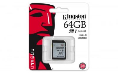 Kingston SDXC 64GB UHS-1 class 10