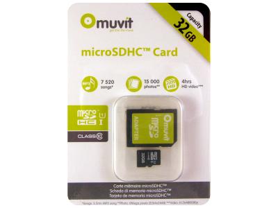 Muvit 32GB MicroSDHC