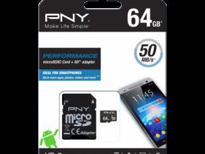 PNY 64GB MicroSDXC class 10