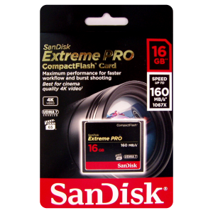 Sandisk 16GB Extreme Pro CompactFlash