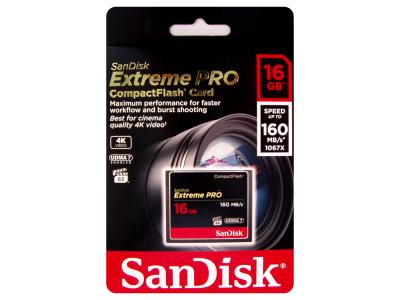 Sandisk 16GB Extreme Pro CompactFlash