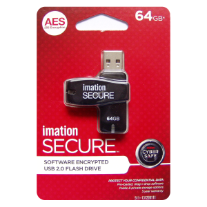 Imation Secure 64GB Flash Drive