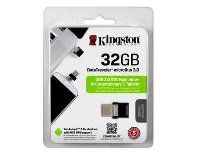 Kingston 32GB DataTraveler microDuo 3.0