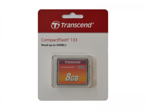 Transcend 8GB CompactFlash 133x