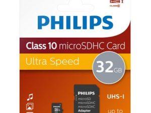 Philips Ultra Speed 32GB MicroSDHC 80mbs