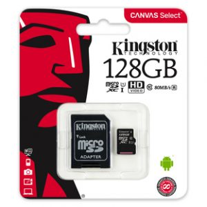 Kingston Canvas Select 128GB MicroSDXC