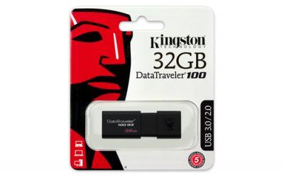 Kingston 32GB DataTraveler 100 G3
