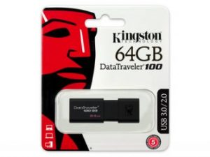 Kingston 64GB DataTraveler 100 G3