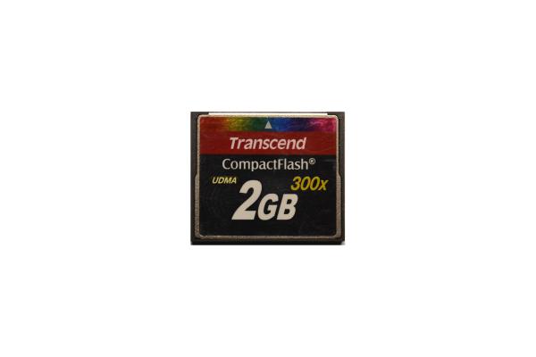 Transcend 2GB CompactFlash 45mb/s