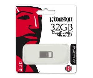 Kingston 32B DataTraveler Micro