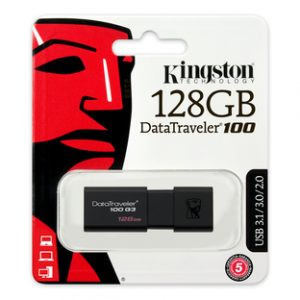 Kingston 128GB DataTraveler 100 G3