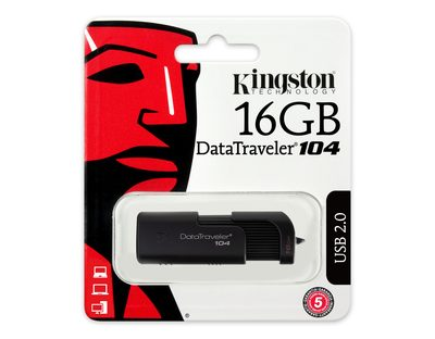 Kingston 16GB DataTraveler 104