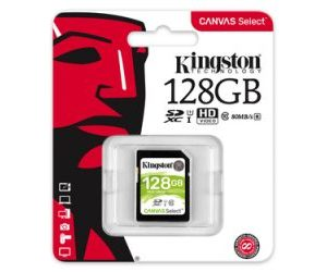 Kingston SDXC 128GB Canvas Select