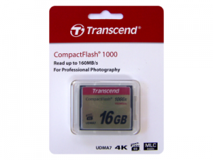 Transcend 16GB CompactFlash 1066x