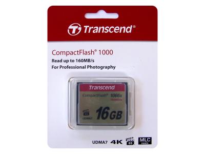 Transcend 16GB CompactFlash 1066x