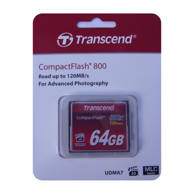 Transcend 64GB CompactFlash 800x