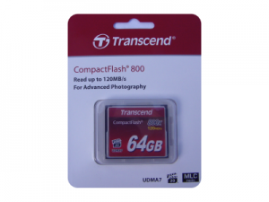 Transcend 64GB CompactFlash 800x