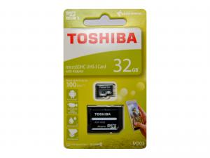 Toshiba 32GB MicroSDHC 100mbs