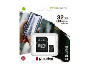 Kingston Canvas Select Plus MicroSDHC 32GB