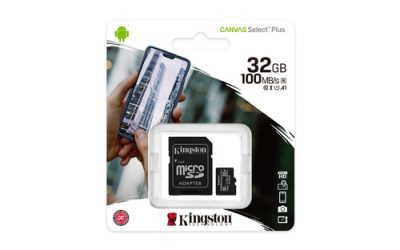 Kingston Canvas Select Plus MicroSDHC 32GB