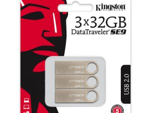 Kingston 32GB DataTraveler SE9 3-pack