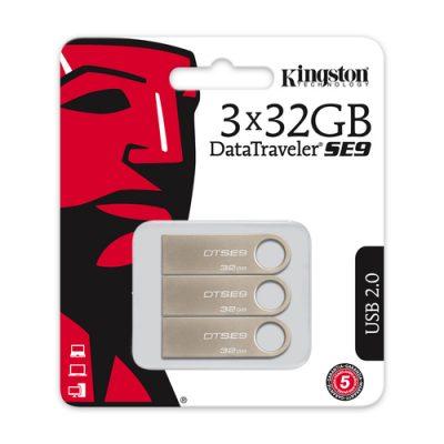 Kingston 32GB DataTraveler SE9 3-pack