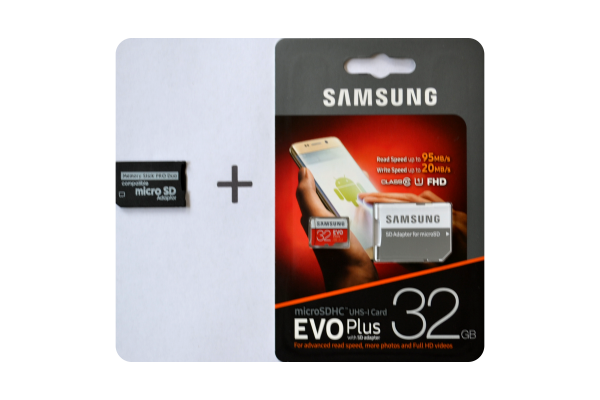 Adapter Memory Stick Pro Duo en 32GB Samsung microSDHC