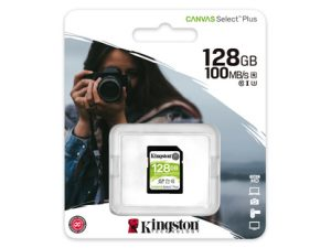 Kingston SDXC 128GB Canvas Select Plus
