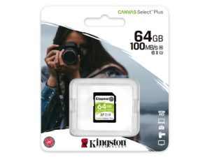 Kingston SDXC 64GB Canvas Select Plus