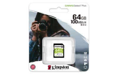 Kingston SDXC 64GB Canvas Select Plus