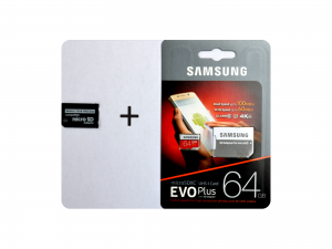 Adapter Memory Stick Pro Duo en 64GB Samsung microSDXC