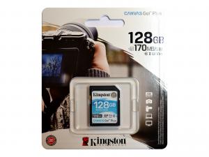 Kingston SDXC 128GB Canvas Go! Plus