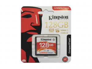 Kingston Canvas Focus 128GB CompactFlash
