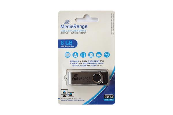 MediaRange 8GB USB 2.0