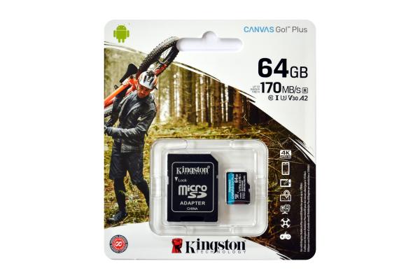 Kingston Canvas Go! Plus MicroSDXC 64GB